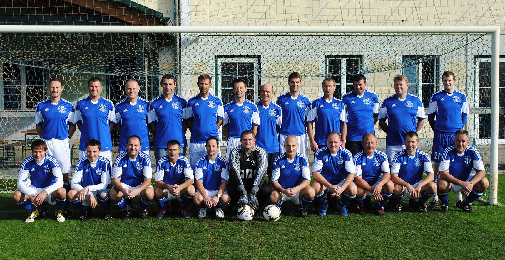 Mannschaftsfoto der Senioren