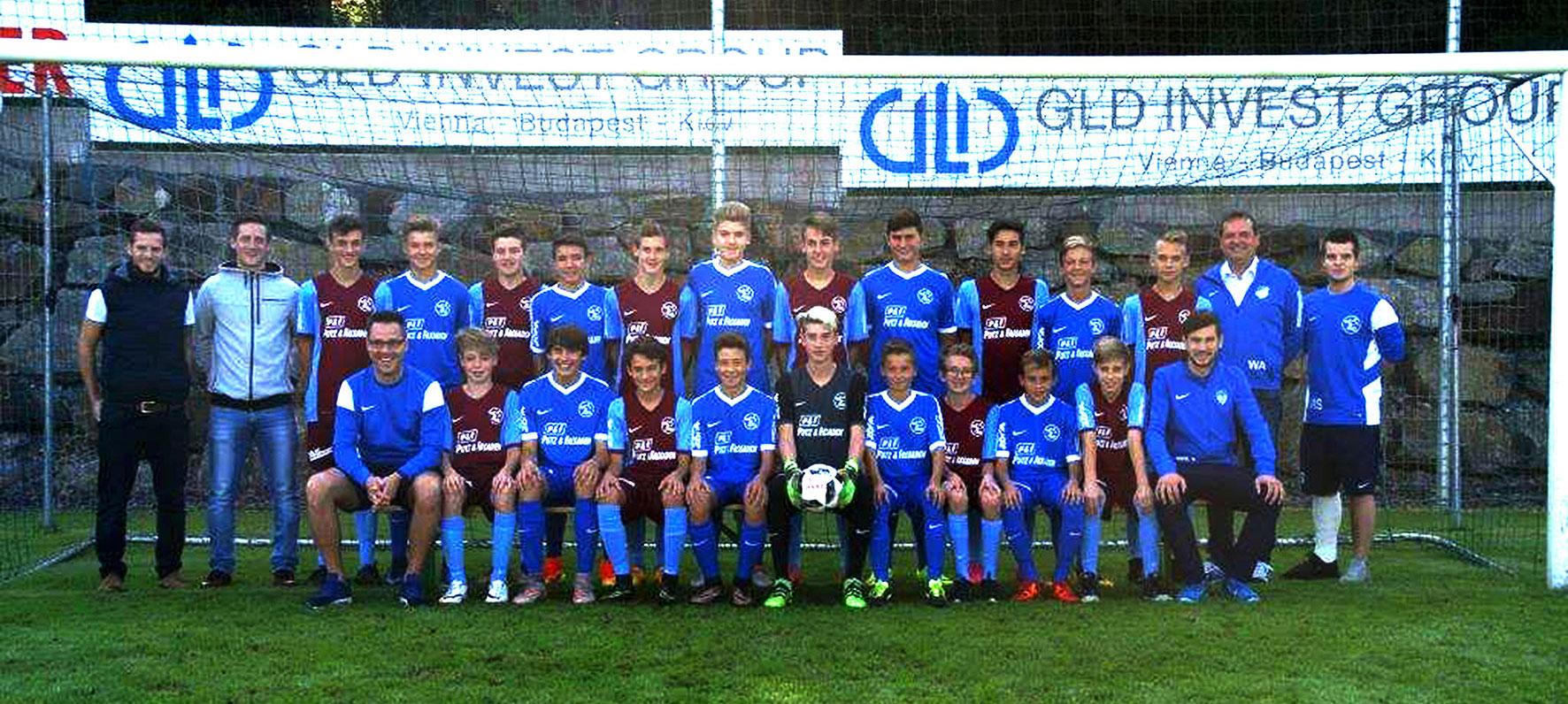 Mannschaftsfoto der U15